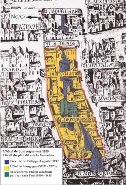 Plan hôtel Bourgogne
