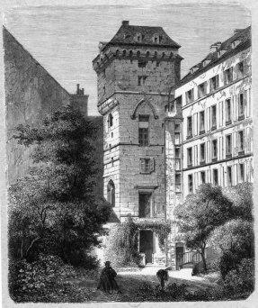 La Tour jean sans peur vers 1860