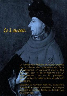Portrait Jean sans Peur - lectures 2 au soir