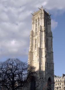 La Tour Saint-Jacques exposition à la tour Jean sans Peur
