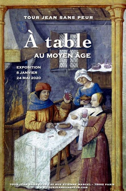 Affiche_expo_A_Table_tour_Jean_sans_Peur